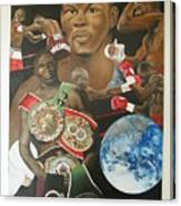 Jermain Taylor Montage Canvas Print