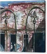 Jerome Ruins Canvas Print