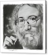 Jerry Garcia Canvas Print