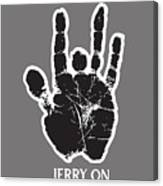 Jerry On Canvas Print