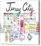 Jersey City Canvas Print