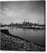 Jersey City Yacht Club Canvas Print