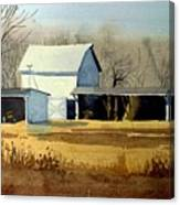 Jersey Farm Canvas Print