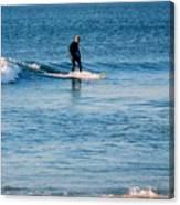 Jersey Shore Surfer Canvas Print