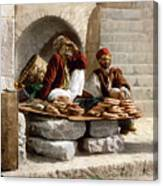 Jerusalem - Bread Seller Canvas Print