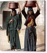Jerusalem - Milk Seller Canvas Print