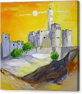 Jerusalem City Of Gold Canvas Print