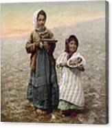 Jerusalem Girls, C1900 Canvas Print