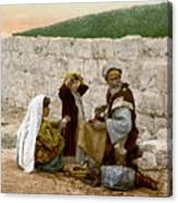 Jerusalem Shoemaker, C1900 Canvas Print