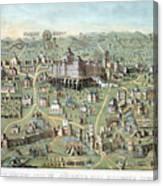 Jerusalem: Solomons Temple Canvas Print