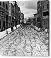 Jerusalem: Street, 1948 Canvas Print