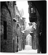 Jerusalem: Winter Canvas Print