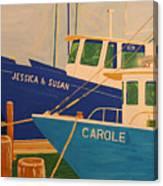 Jessica and Susan Canvas Print