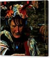 Jester Somnolent Canvas Print