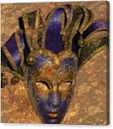 Jester's Mask Canvas Print