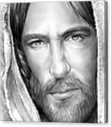 Jesus Face Canvas Print