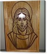 Jesus Frame Canvas Print