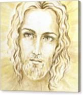 Jesus In Light Canvas Print