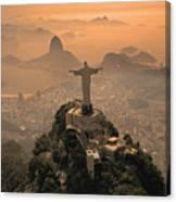 Jesus In Rio Canvas Print