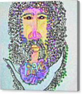 Jesus King Of Peace Canvas Print