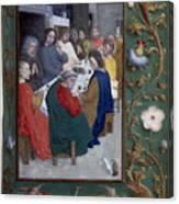 Jesus: Last Supper Canvas Print