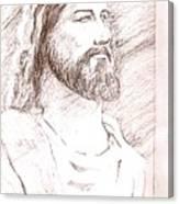 Jesus Canvas Print