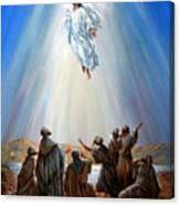 Jesus Taken Up Into Heaven Canvas Print