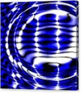 Jet Blue Canvas Print