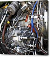 Jet Engine Canvas Print
