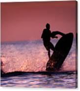 Jet Ski On Lake Erie Canvas Print