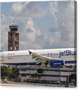 Jetblue Fll Canvas Print