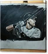 Jeter A Classic Canvas Print
