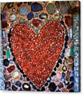 Jewel Heart Canvas Print