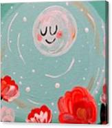 Jewel Moon Canvas Print