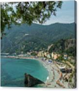 Jewel Of The Mediterranean Canvas Print