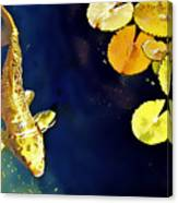 Jewel Of The Water Canvas Print
