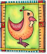 Jewel Rooster II  Canvas Print