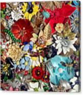 Jeweled Garden Canvas Print