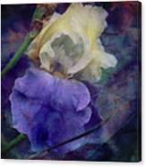 Jeweled Iris Canvas Print