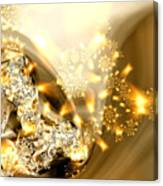 Jewels And Satin Canvas Print