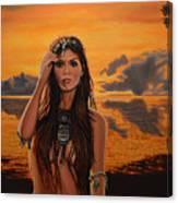 Jewels Of Costa Rica Canvas Print