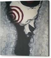 Jig, Saw, Face Canvas Print