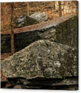 Jigsaw Rocks Canvas Print