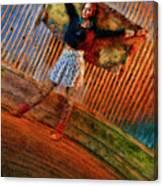 Jill Heron Magical Carpet Canvas Print