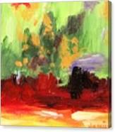 Jill's Abstract Canvas Print