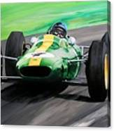 Jim Clark Lotus 25 Canvas Print