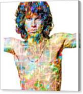 Jim Morrison The Doors Canvas Print