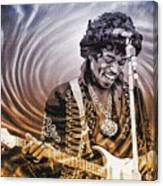 Jimi Hendrix - Legend Canvas Print
