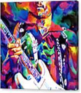 Jimi Hendrix Purple Canvas Print