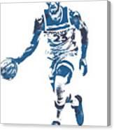 Jimmy Butler Minnesota Timberwolves Pixel Art 5 Canvas Print